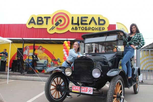Легендарная машина приехала в «Автоцель» из Норвегии