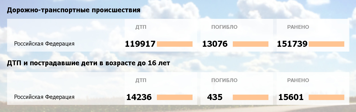 Скриншот с сайта ГИБДД РФ