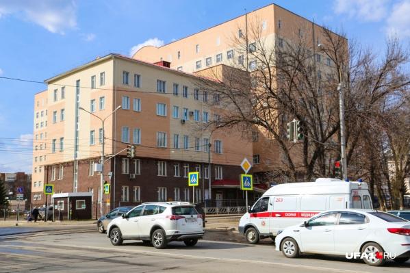В больнице создаютCOVID-госпиталь