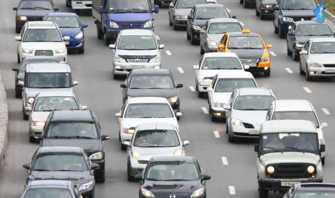 Новосибирцы встали в 7-километровую пробку на Бердском шоссе