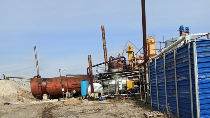 В Самарской области рабочие обожглись горячим битумом