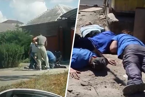 Ранее ФСБ опубликовала видео с задержания