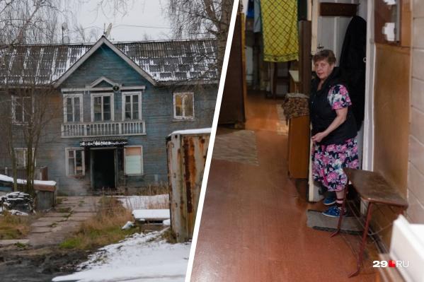Дом на Обводном, 88 выглядит ветхим, однако официально аварийным он сейчас не признан