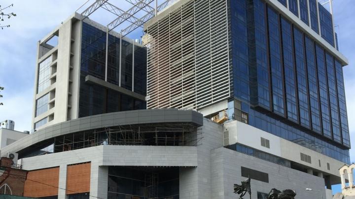 Открытие пятизвездочного отеля Hyatt в Ростове сдвинулось на 2021 год