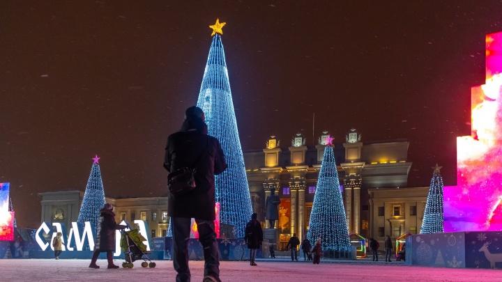Погода — мечта! Синоптики дали прогноз на новогоднюю ночь в Самаре