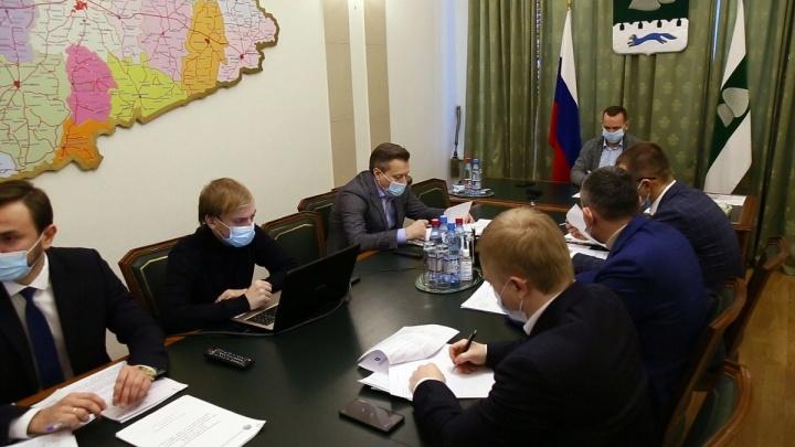 Глава Зауралья отчитался перед министром экономразвития РФ об успехах региона