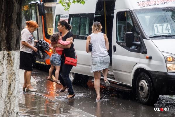 Волгоградцам советуют захватить с собой зонты