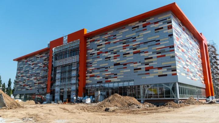 «Кедр» получил предупреждение за изменение проекта торгового комплекса в омском парке