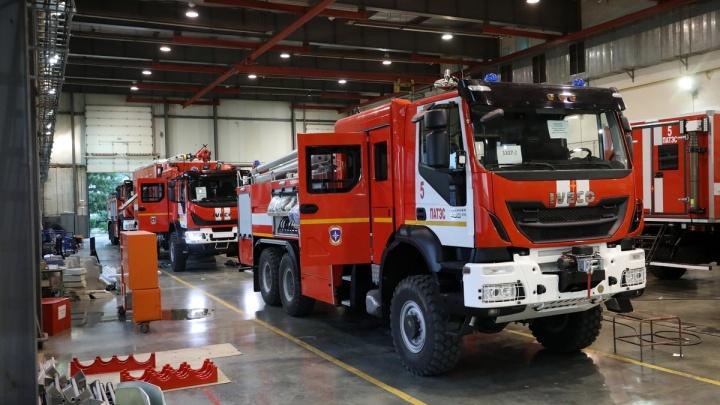 Пожарные машины из Зауралья отправили на атомную электростанцию на Чукотке