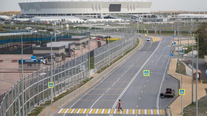 В Ростове ограничат движение транспорта из-за футбола