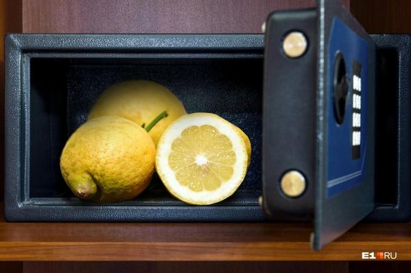 Лимоны теперь на вес золота