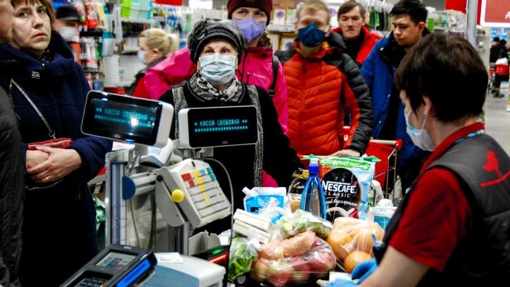 В кузбасских городах ввели особый режим работы магазинов из-за коронавируса