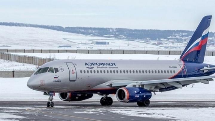 Самолет рейса Москва — Пермь подал сигнал тревоги