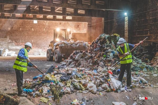 В комплексе планируют перерабатывать 50 тысяч тонн отходов в год