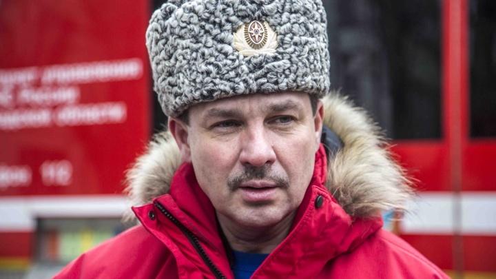 Начальник ГУ МЧС России по Волгоградской области освобожден от обязанностей
