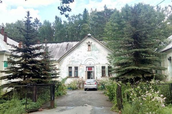 Здание, где находится геронтологическое отделение психиатрической больницы № 6
