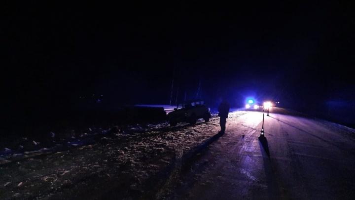 Грузовик с цистерной сбил насмерть 41-летнего пешехода на тюменской дороге
