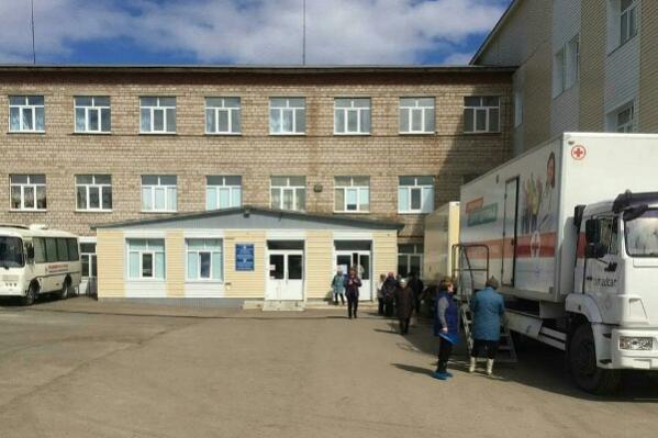 В Месягутовской ЦРБ находятся два мигранта с подтвержденным диагнозом