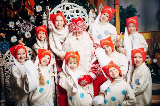 Российский Дед Мороз с новыми технологиями на ты