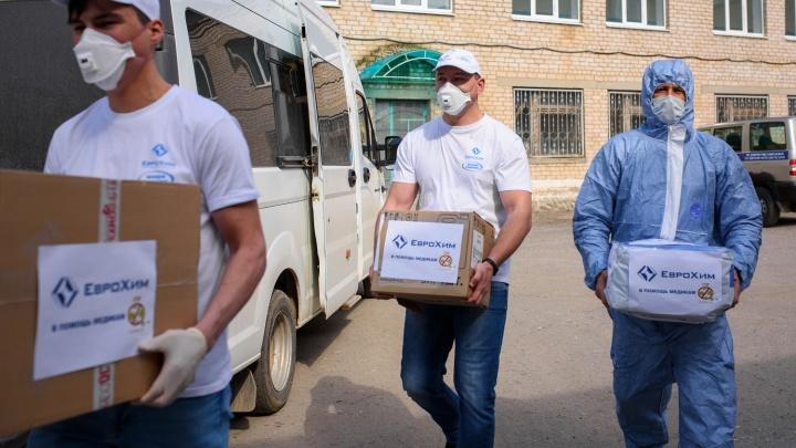 Волонтеры «ЕвроХима» получили награду президента России