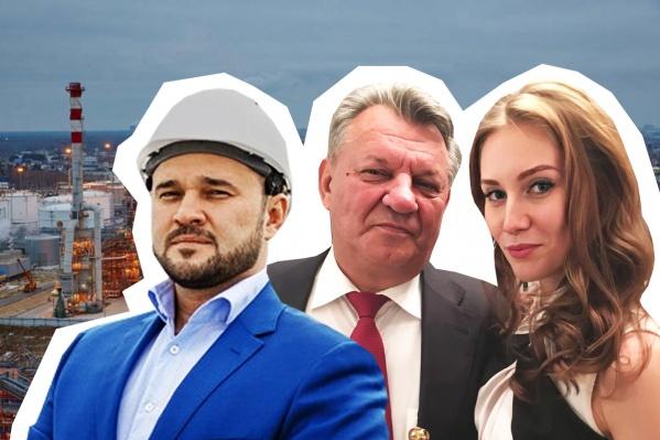 На фото (слева направо) Алексей Лисовиченко — сын, Геннадий Лисовиченко — глава семьи и его теперь уже бывшая молодая жена Ксения