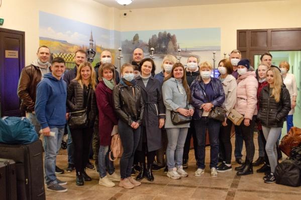 Архангелогородцы отправились на работу в Москву 13 мая<br>