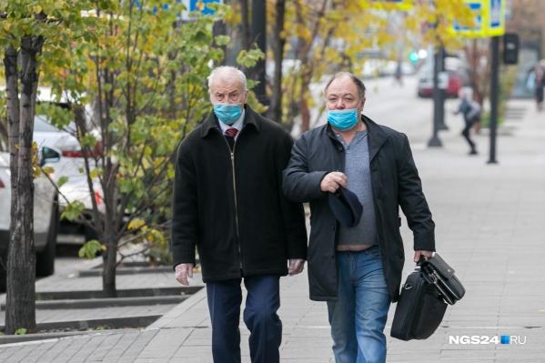 Коронавирус осенью набирает обороты, край в первой десятке регионов по количеству заболевших
