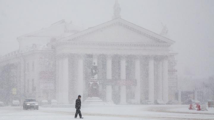 В Волгоградской области обещают сильный снег, дожди и гололед