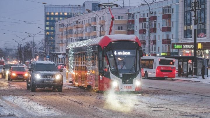 В Пермь привезли еще шесть трамваев «Львят»