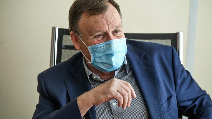 Депутат гордумы Екатеринбурга Владимир Крицкий победил коронавирус