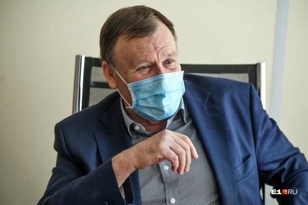 В ближайшие дни Владимир Крицкий планирует выйти на работу