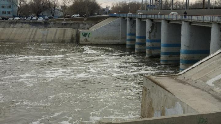 В Курганской области уровень воды в реках за сутки поднялся почти на полметра