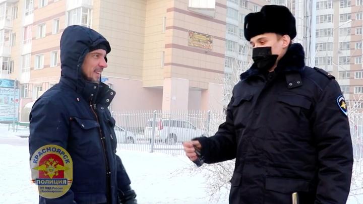 Полицейские нашли угнанную «Камри» красноярца в Москве и вернули ее владельцам