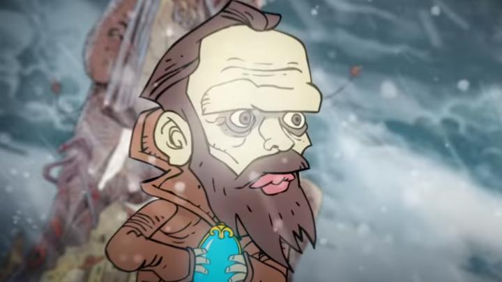 Уральский художник нарисовал для Вячеслава Бутусова клип по мотивам русской классики