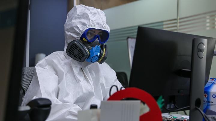 Журналист UFA1.RU после 2 часов в противочумном костюме: «Захотелось поклониться врачам, даже прослезилась»