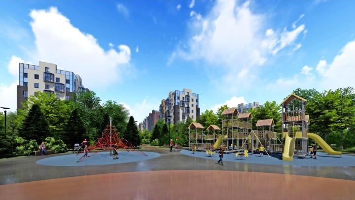 «Парк будут строить в первую очередь»: группа «Аквилон» ответила на вопросы о проекте «Квартал 100»