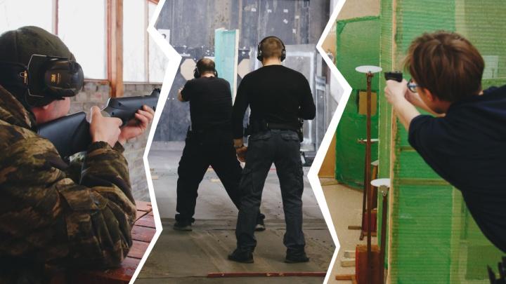 Порох, адреналин и пушка. Где мужчинам выпустить пар и пострелять в Челябинске
