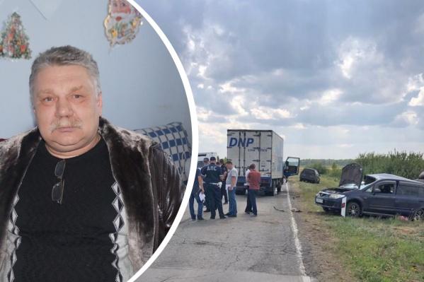 Жители Купино рассказывают, что за рулём «Мазды» былСергей Стефаненко