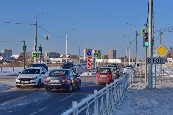 Торжественное открытие новой дороги состоялось сегодня