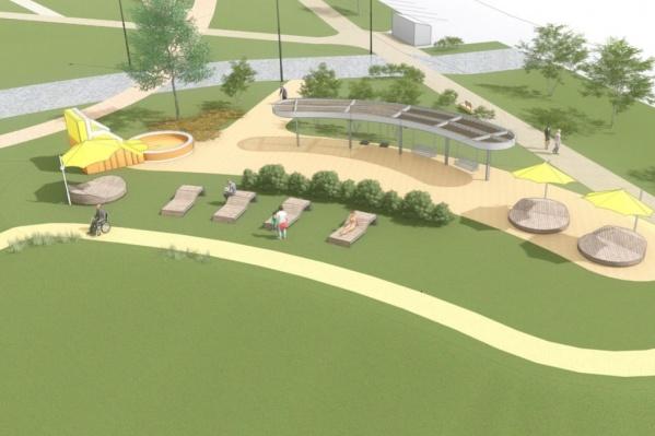 Так в идеале должен в будущем выглядеть парк