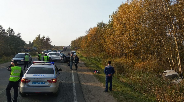 В Ярославской области в ДТП погибла 10-летняя девочка. Видео