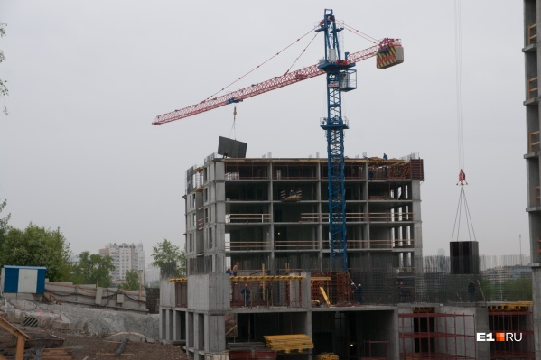 Первую очередь нового района начнут строить уже в июле