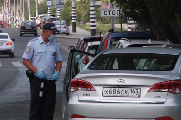 Не все водители адекватно реагируют на инспекторов ГИБДД