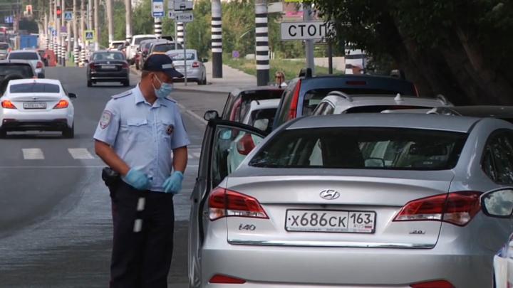 В самарской ГИБДД разъяснили, за что инспекторы могут останавливать водителей