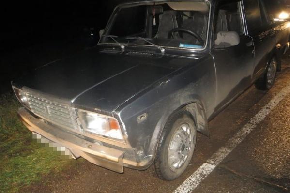 Пьяный водитель сбил женщину