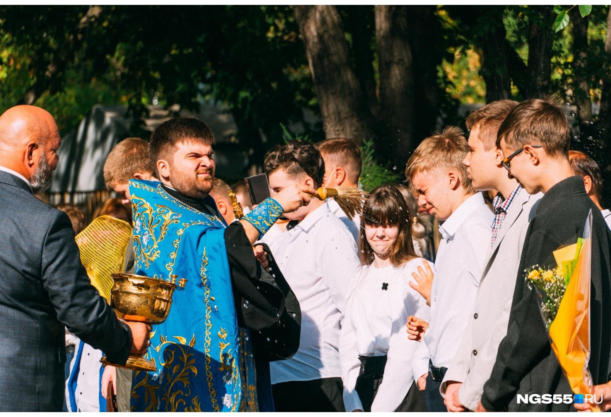 Омские школьники будут учиться с божьей помощью