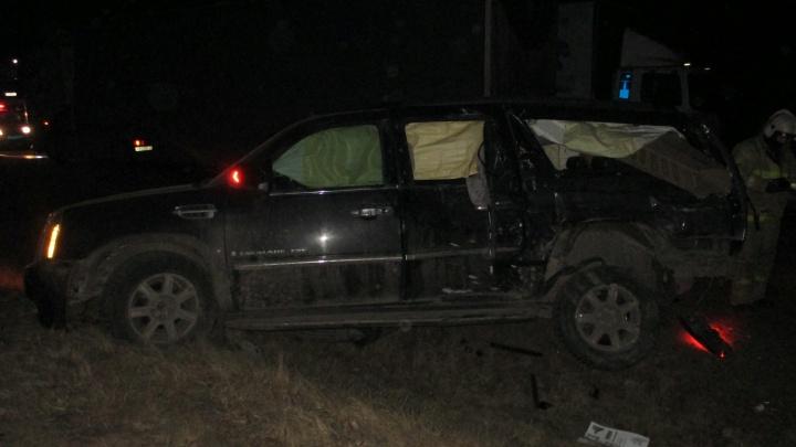 Два ребенка в больнице: в Ярославской области в ДТП попали москвичи на «Кадиллаке»