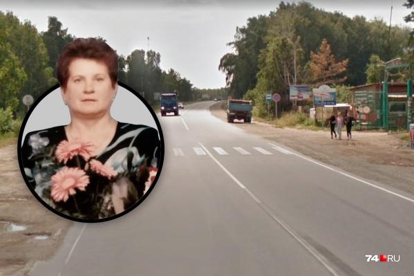 68-летнюю челябинку насмерть сбил водитель «десятки» на пешеходном переходе у сада «Чайка»