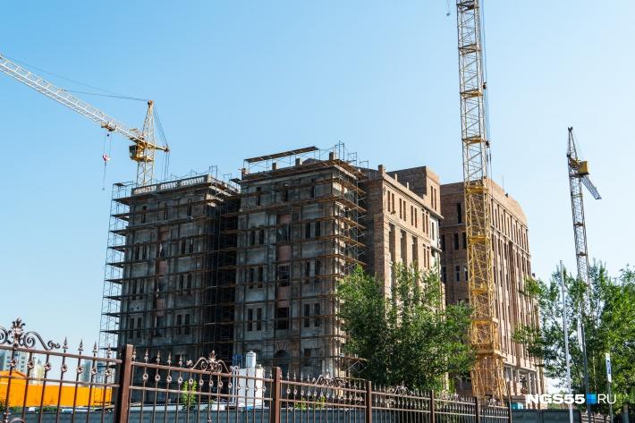 После ввода в экскплуатацию здание будет передано в оперативное управление Омского облсуда