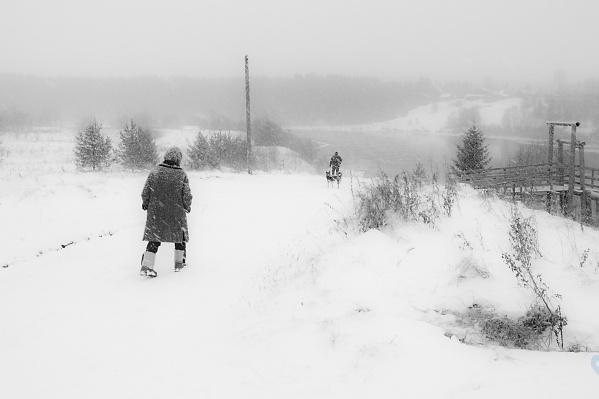 «Север, снег и бабушка» — так называется снимок Наталии Колтаковой, который победил в номинации «Традиция»